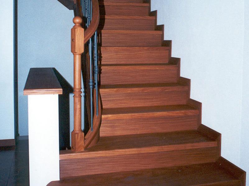 Progettazione Scale Interne : Rivestimenti scale per interni bergamo scale della corte