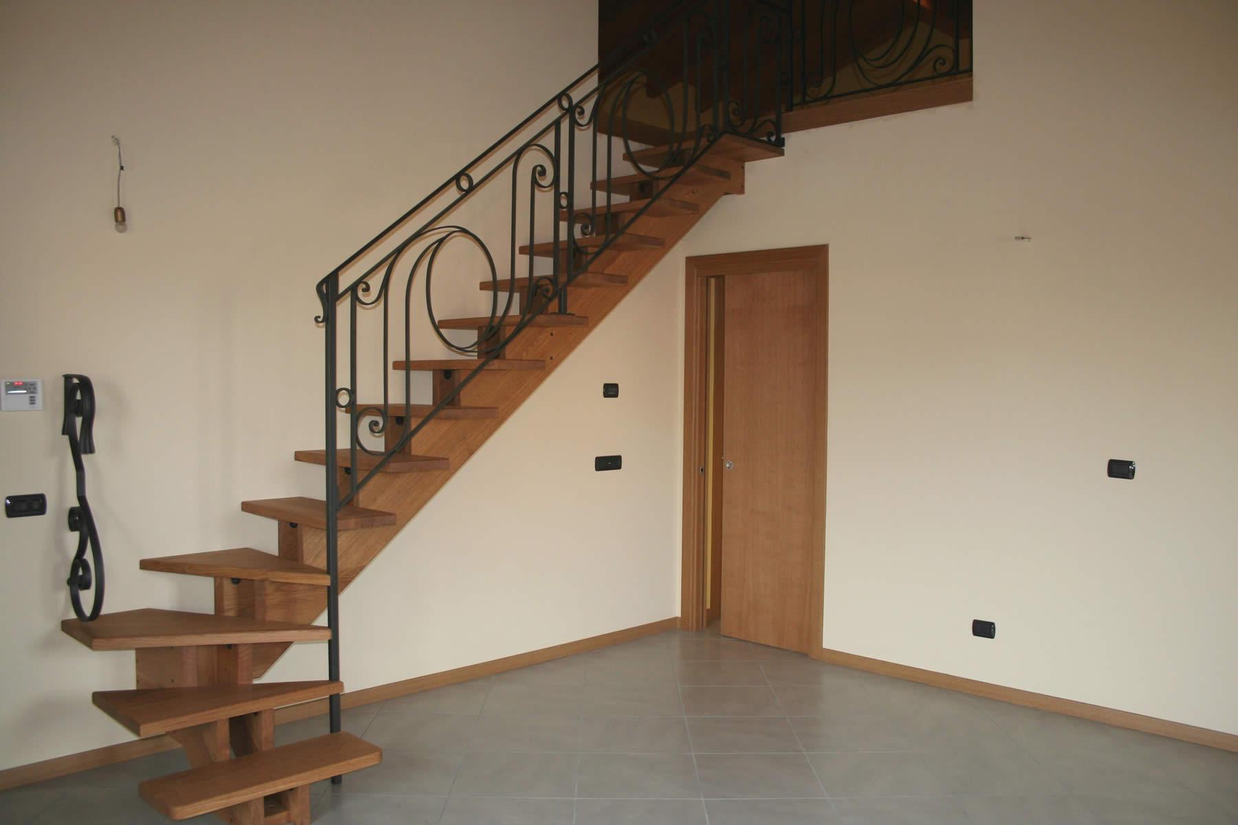 Ringhiere per scale interne | SCALE DELLA CORTE