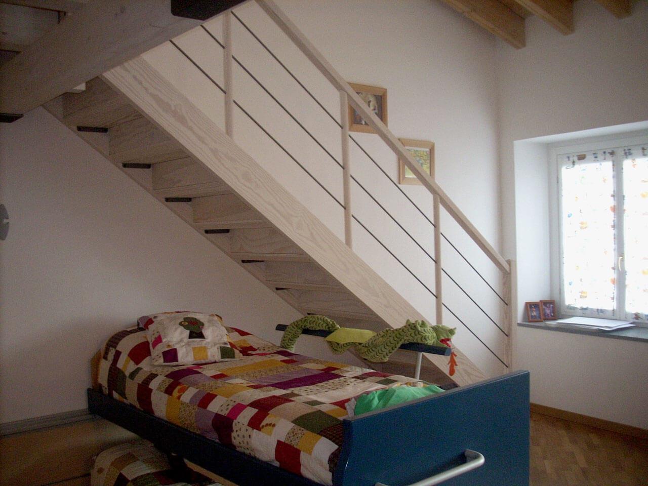 Scale Interne Con Cassetti scale a giorno per piccoli spazi | le scale della corte